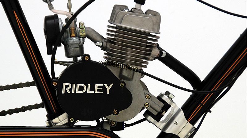 Ridley vintage motorbikes engines model 48 for Model a motor mounts